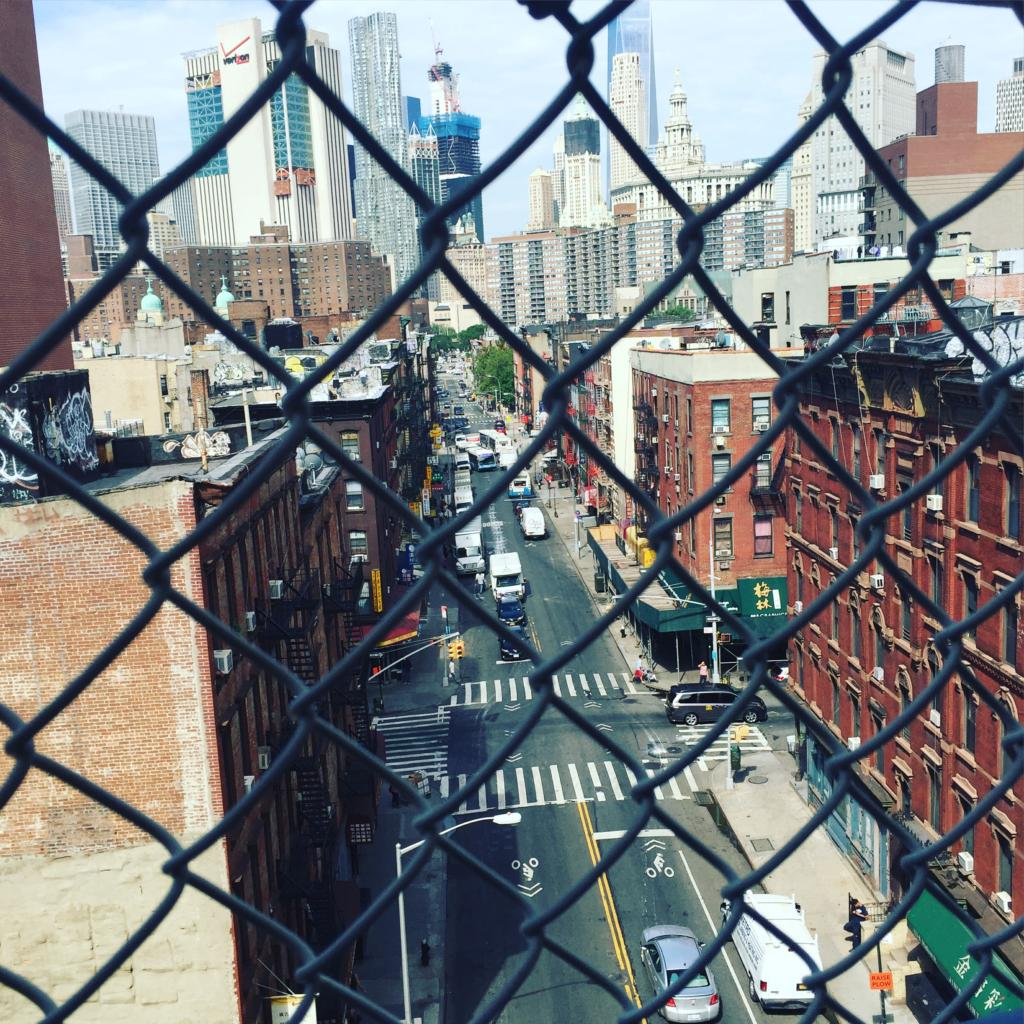 View Over The Manhattan Bridge